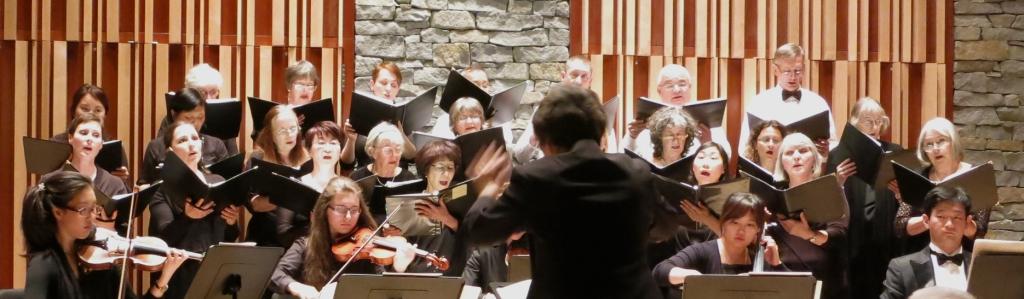 Performance of Puccini's Gloria in May 2015