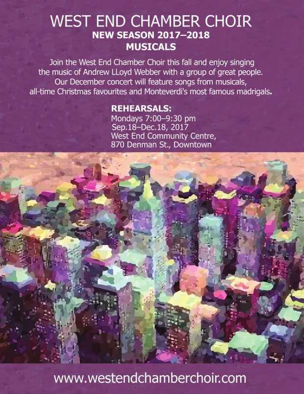 West End Choir poster-1