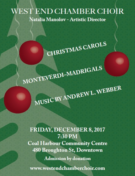 Updated West End Christmas Poster